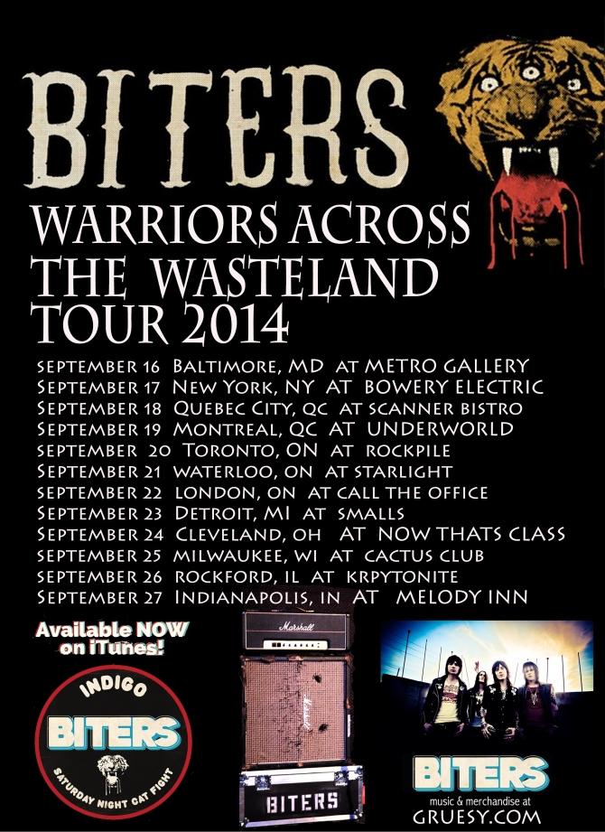 biters tour