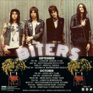 BITERS UK Tour