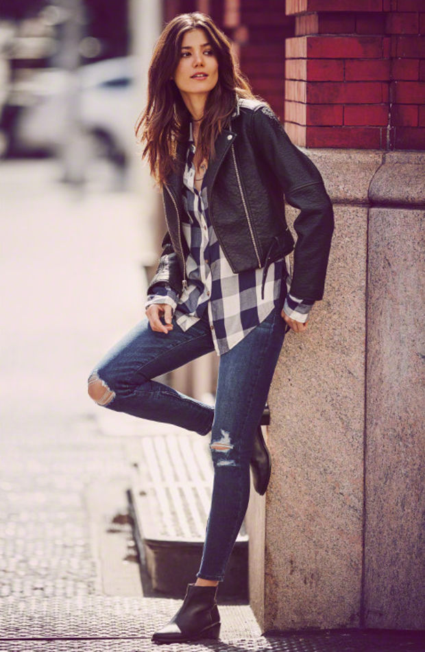 Abercrombie & Fitch fall lookbook. Photo: Abercrombie.com