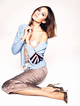 Alexa Chung by Matt Irwin for Elle UK December 2015