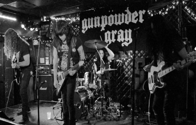 Gunpowder Gray - Doors open at 8:30pm at The Earl in East Atlanta
